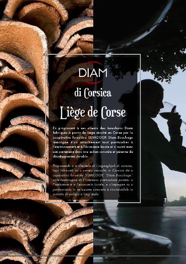 Diam Bouchage lanza el corcho de Córcega