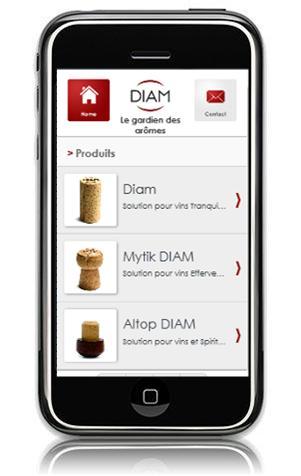 ¡Diam lanza su sitio Internet móvil!